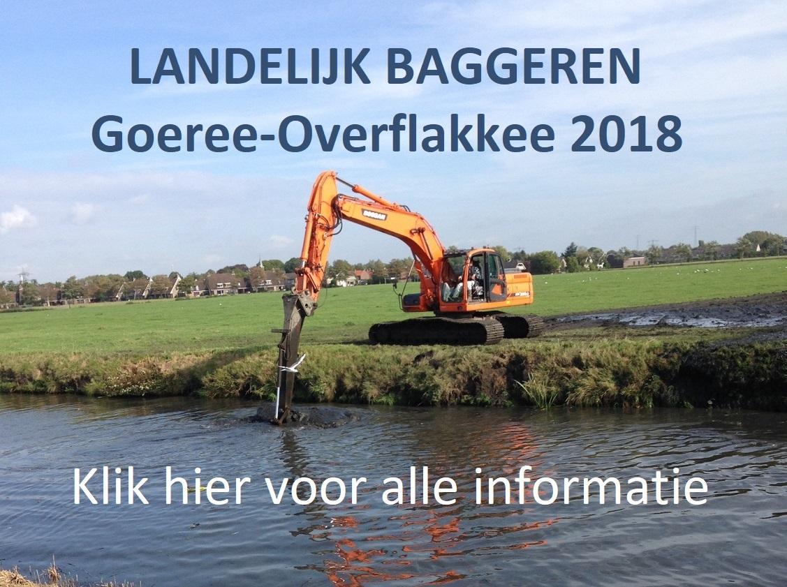 Informatie Baggeren Goeree-Overflakkee 2018
