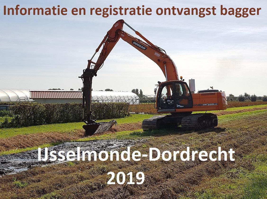 Informatie baggeren IJsselmonde-Dordrecht 2019