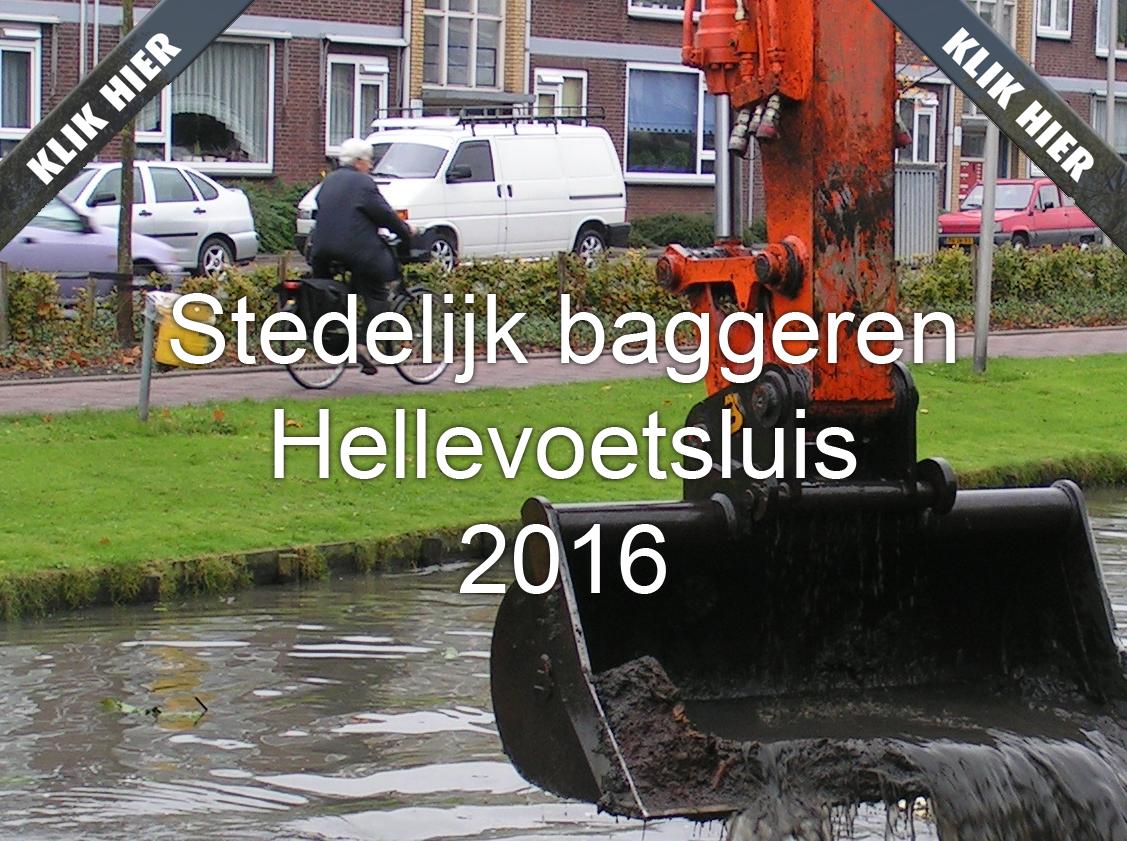 Bagger- en maaiwerkzaamheden Hellevoetsluis