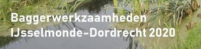 Informatie baggeren IJsselmonde-Dordrecht 2020